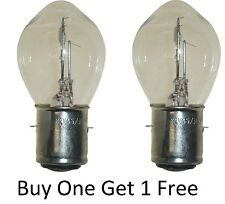 Honda XL 125  Varadero Headlight Bulb Head Light BAY20D 1 FREE