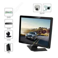 "Eyoyo 19"" LCD Computer Monitor 1080P 4:3 w HDMI BNC VGA AV USB Built-in Speaker"