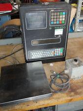 TOLEDO scale model 9361 w/ Load cell, check info