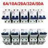 2 Pole Miniature Circuit Breaker 400V DC System Appliance 6A/10A/20A/32A/50A MCB