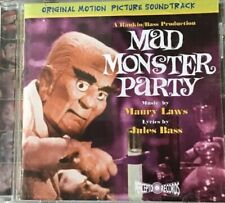 MAD MONSTER PARTY SOUNDTRACK NEW SEALED, MINT, RARE CD, RETROGRADE RECORDS