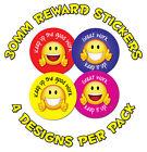 Pack of 144 30mm Great Work Childrens Reward Stickers