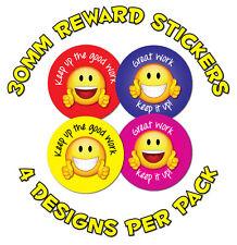 """144 X 30mm « gran trabajar """" - para Niños recompensa Stickers-las escuelas, profesores, padres"""