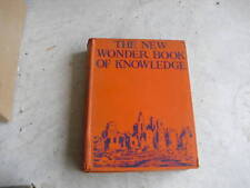 1939 Book New Wonder Book of Knowledge by Hill