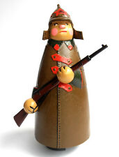 Russian Soviet Red Army Soldier w/Rifle Going Toy Excellent New
