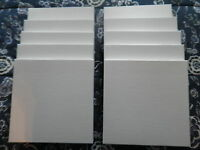 """Tape Reel boxes for 7"""" X 1/4"""" reels. Lot of 10 NEW WHITE TAPE REEL BOXES!! MINT!"""