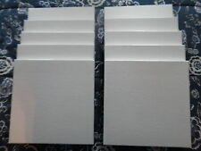 "Tape Reel boxes for 7"" X 1/4"" reels. Lot of 10 NEW WHITE TAPE REEL BOXES!! MINT!"