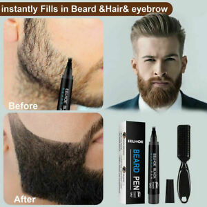Beard Pencil Filler Water Proof Long Lasting Coverage Beard Moustache Tool Kit