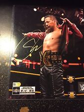 Nakamura Wwe WrestleMania 33 Exclusive Limited Edition Autograph # 15 of 33