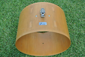 """1970's SONOR-PHONIC 22"""" BASS DRUM SHELL in OAK VENEER for YOUR DRUM SET! M984"""