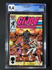 G.I. Joe Yearbook #3 CGC 9.4 (1987)