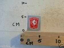 STICKER,DECAL FC TWENTE LOGO VOETBAL SOCCER AH