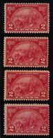 1924 Huguenot Walloon Sc 615 MHR small remnant, original gum