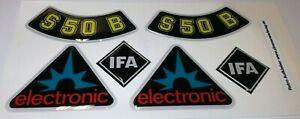 3D Gel Aufkleber Simson S50 B electronik