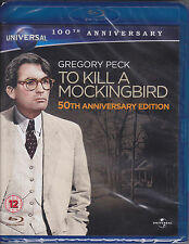 To Kill A Mockingbird (1962) Gregory Peck New & Sealed UK Blu-ray