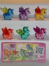 KPS - Figuren > My little Pony - Einhörner  2014 < (D) + alle 6 BPZ