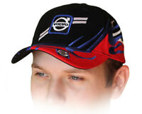 Volvo Black Red Baseball Cap 3D Embroidered Auto Car Logo Hat Mens Womens Gift