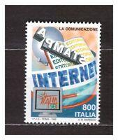 s31146) ITALIA MNH** 1998 Telecomunicazioni Internet 1v