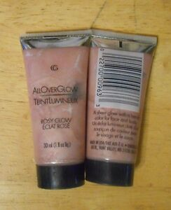 1 tube COVERGIRL ALL OVER GLOW ROSY GLOW unsealed