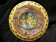 RARE Vallauris Plat en céramique de 1935, JEAN BAPTISTE GAZIELLO (1871-1957)