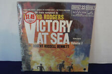 Victory At Sea Vol 1, RCA Victor LPC 121, 1961, Compact Double 33, SEALED, EP