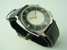 JAEGER LECOULTRE MEMOVOX Stainless Steel Vintage Square Alarm 1960s Watch - Rare