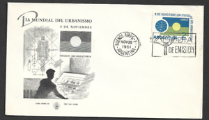 ARGENTINA - 1961 World Town Planning Day - FIRST DAY COVER.