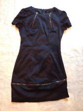 TCEC Dress Sz XS- S Navy With Zipper Details