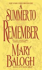 A Summer to Remember (Bedwyn Saga) Balogh, Mary Mass Market Paperback