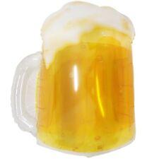 "XL 23"" Frosty Beer Mug Super Shape Mylar See-Thru Balloon Bar Party Decoration"