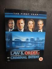 ***Law & Order: Criminal Intent - Season 1 - The First Year [REG 2]*** FREE P&P