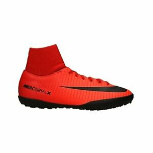 Nike JR MercurialX Victory 6 DF TF, US 3y, University Red/Black/ 903604-616