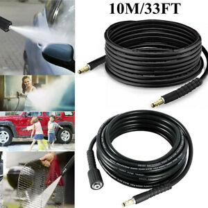 10M/33FT High Pressure Washer Extension Hose For Karcher K2 K3 K4 K5 K7 K Series