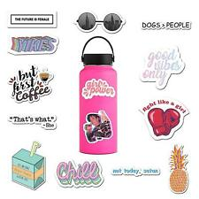 14 Pack Vinyl Stickers for Laptop, Water Bottle, Hydro Flask - By RipDesigns