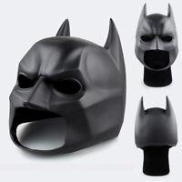 Batman The Dark Knight PVC Soft Helmet Cosplay Anime Halloween Party Prop Gift