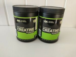 Optimum Nutrition Creatine Monohydrate Powder Micronised 100% 317g - 93 Servings