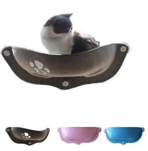 Hot Sale Pet Cat Hammock Beds Sunny Window Lounger Suction Hammocks Cats Bed