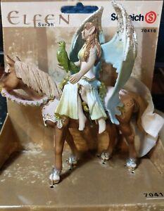 NEW Schleich 70416 Surah Shadow Elf Horse Fairy Figure Figurine Fantasy Bayala