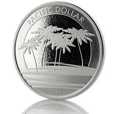 2018 1 oz Silver Fiji Pacific Dollar .999 Silver Coin BU #474