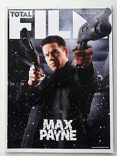 Total Film #145 Sept 2008 Max Payne/Mark Wahlberg,Gregor Jordan,Will Ferrell...