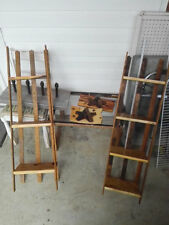 Handmade Display Stand,Vintage wooden slats ,3 to 4 shelves,made to order