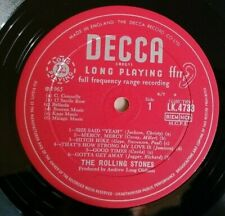 Rolling Stones LP Out of our heads UK Decca Mono 1st Press 10A 10B LOVELY VINYL