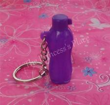Tupperware Eco Water Sports Bottle Keychain Purple Collectible Gadget NEW