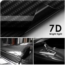 7D Wasserdichter Carbon Folie Auto Autofolie Kohlefaser Vinyl Aufkleber300x30cm