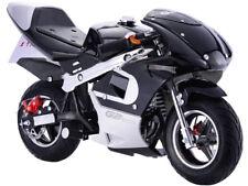 Black Mini Motorcycle Boys Girls Gas Pocket Bike 40CC 4 Stroke EPA Approved New