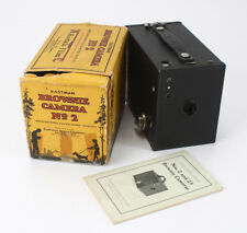 KODAK BROWNIE NO. 2A, USES 116 FILM, BOX IS TORN AND TAPED UP/cks/194186