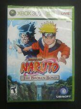 Naruto: The Broken Bond (Microsoft Xbox 360, 2008) Factory Sealed!!! New!!!