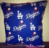 Dodgers Pillow LA Dodgers MLB Handmade in USA Pillow