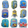 Kids Despicable Me Minions 2 Movie School Bag Rucksack Backpack Brand New Gift