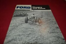 Ford Tractor Mowers & Rakes Dealers Brochure AMIL15 ver2